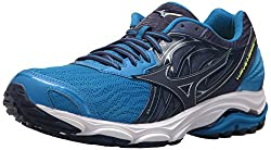 Mizuno Men's Wave Inspire 14 Running Shoe, Directoire Blue, 8