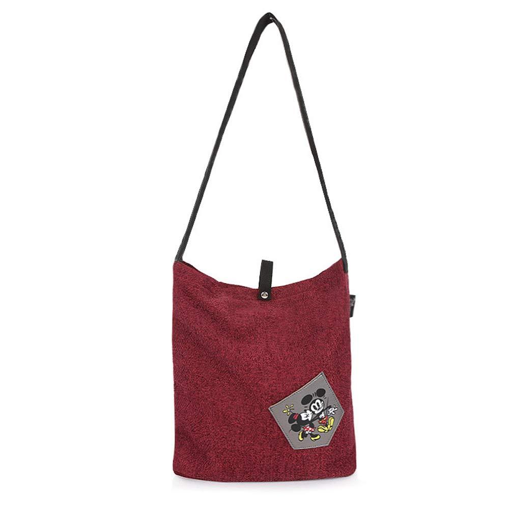 WITHMOONS Messenger Crossbody Simple Casual Hobo Bag Bookbag Organizer