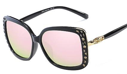 DaQao Gafas de sol clásicas, rectangulares, gafas de sol ...