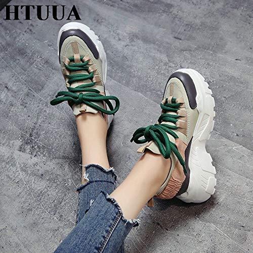 Casuales 38 Zapatos De Mujer Zapatillas Plataforma Cómodos 37 2019 Damas Primavera Yopew Femme wPCIWpqC