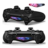 Gebaisi Light Bar Decal LED Sticker 2PCS for PlayStation 4 PS4 Controller – Nebular For Sale