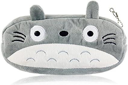 Mi Vecino Totoro felpa suave estuche: Amazon.es: Oficina y papelería