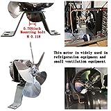 Shaded Pole Motor 110V-120V 60Hz 1.01A 18W AC Fan