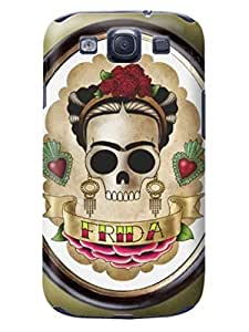 LarryToliver people look for samsung Galaxy s3 Customizable Beautiful Skull Arts pictures case cove #6