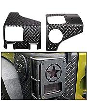ECOTRIC Rear Corner Guards Body Armor Kit Rear Quarter Panel for 2007-2018 Jeep Wrangler