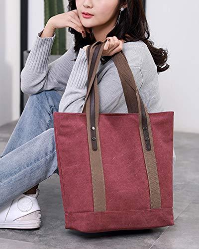 Vintage Lienzo La Chicas Zixing Hobo Tote Escuela Shopping Y Hombro Mano Viajes Simple Para Trabajo Bolsa Shopper De Mujeres Bolso Pueplecoffee SrqPHqd