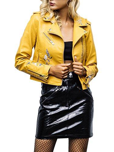 Motorcycle Jacket Yellow - 7