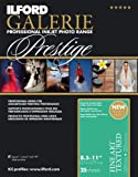 ILFORD 2002410 GALERIE Prestige Fine Art Textured - 8.5 x 11 Inches, 25 Sheets