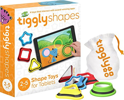 stem toys for preschoolers Tiggly Shapes Interactive Learning Games for Kids 2 to 5 Years Old