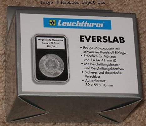 18mm Blank Coin Slabs Snaps For US Dime Size 25 Holders Deal Lighthouse Everslab