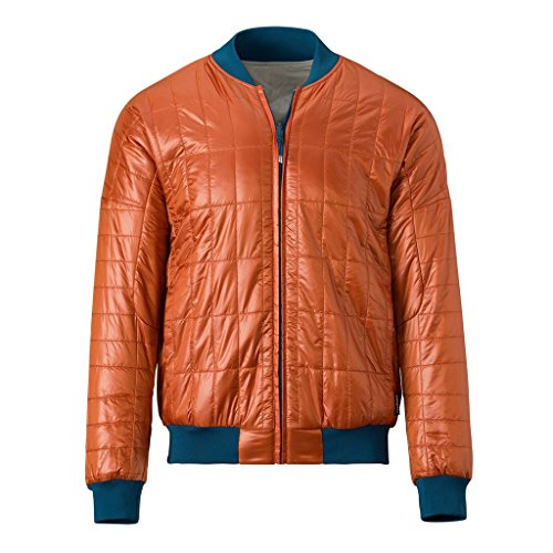 Cotopaxi Insulated Water Resistant Kusa Bomber Jacket ,Cinnamon Mist ,Small