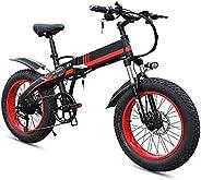 Electric Bike Electric Mountain Bike Electric Snow Bike, Adult Folding Electric Bikes Comfort Bicycles Hybrid
