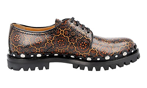 up Shoes Car Lace Spazzolato Shoe Brushed Leather Women's KDE40M q8z0BZq