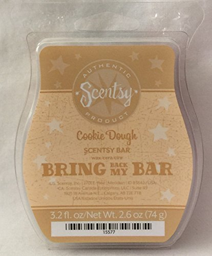 Scentsy Cookie Dough 3.2oz Wax Bar Bakery Cafe Rare and Retired