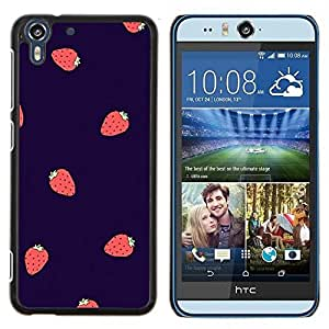 Dragon Case - FOR HTC Desire EYE M910x - strawberry summer berries purple red - Caja protectora de pl??stico duro de la cubierta Dise?¡Ào Slim Fit