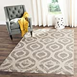 Cheap Safavieh Amsterdam Collection AMS107A Vintage Geometric Ogee Ivory and Mauve Square Area Rug (6'7″ Square)