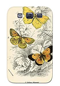 Storydnrmue Ultra Slim Fit Hard Case Cover Specially Made For Galaxy S3- Butterflies