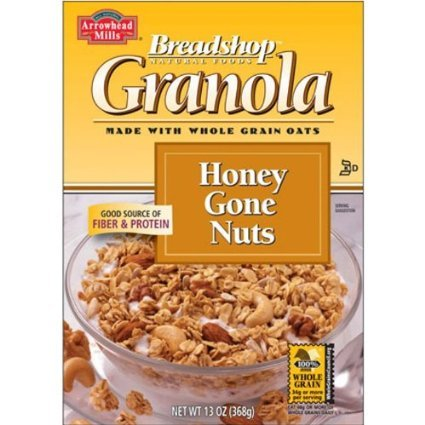 Arrowhead Mills Breadshop Honey Gone Nuts, 17 Pound, Package by Breadshop