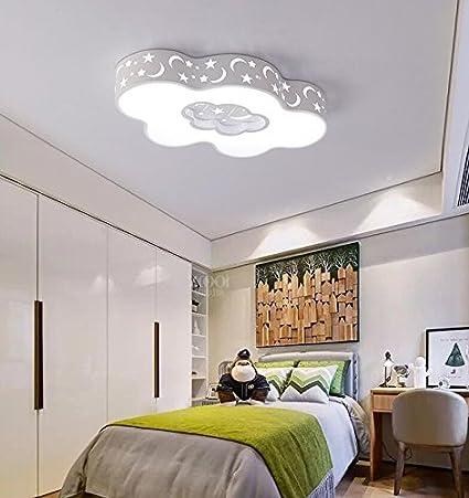 Moderno e minimalista24W La ragazza bambino lampada camera ...