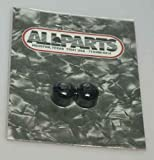 Allparts MK-3315-003 Black Mini Dome Knob Set