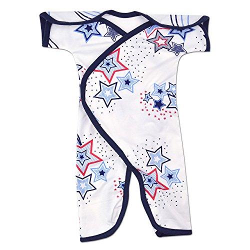 Perfectly Preemie Short-Sleeve NIC-Jumpsuit (Shooting Star, Preemie - Boys Shirt Micro