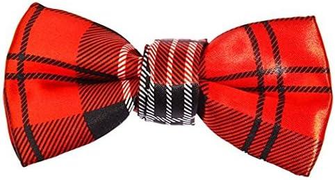 Leopard Print Bow Tie Clip On Fancy Dress 1980/'s Costume Accessory Stewart UK