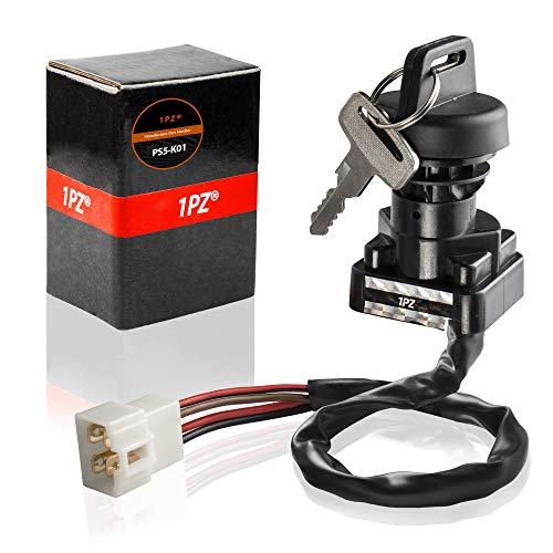1PZ PS5-K01 Ignition Key Switch fits Polaris ATV Magnum 425 97-99 / BigBoss 400L 97 500 98-99 / Sport Xplorer 400 99 / Diesel 455 99 / Scrambler 400 500 99 / Worker 500 99 / Sportsman 500 96-99