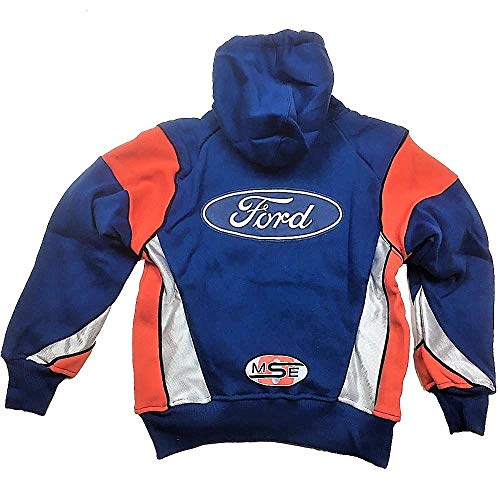 Omse Pour Ford Cross Capuche Homme Rally Bleu Sweat Racing À 44gpr