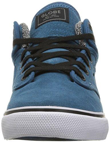 Globe Männer Motley Mid Skate Schuh Meerblau / Weiß
