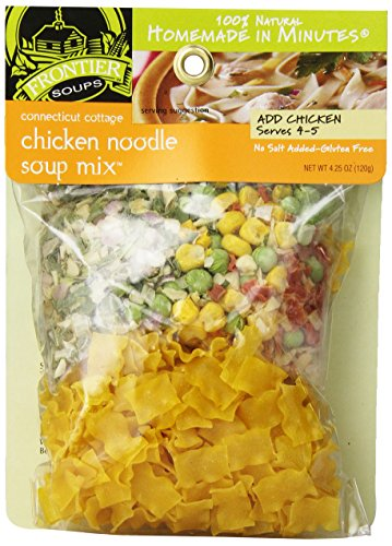 (Frontier Soups Homemade In Minutes Soup Mix, Connecticut Cottage Chicken Noodle, 4.25)
