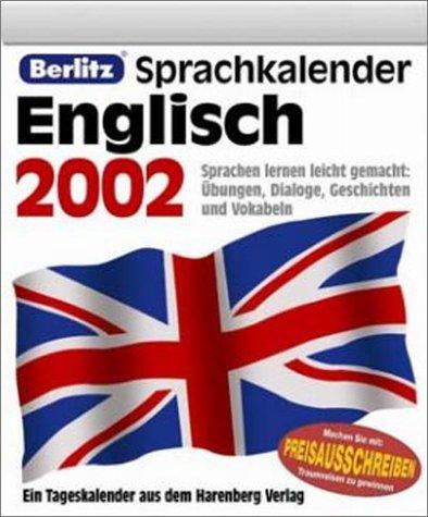 Kalender, Berlitz Sprachkalender Englisch