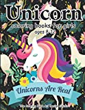 Unicorn Coloring Books for Girls ages 8-12: Unicorn Coloring Book for Girls, Little Girls, Kids: New Best Relaxing, Fun and Beautiful Coloring Pages ... For Girls .. Ages 2-4, 4-8, 9-12, Little Teen