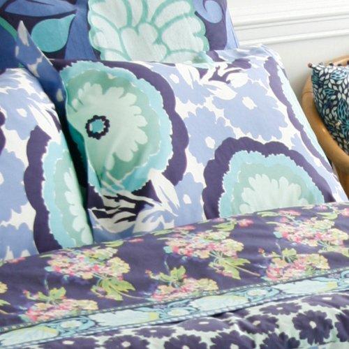 Amy Butler Dream Daisy Duvet King Sham (Blue) ()
