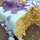 Leinuosen 7 Pieces Seashell Silicone Cake Molds