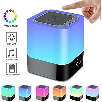 Amazon.com: Alisten Night Light Wireless Bluetooth Speakers, All ...