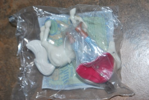 Mcdonalds Happy Meals Snow White & The Seven Dwarfs, Prince with Horse, Year 1992