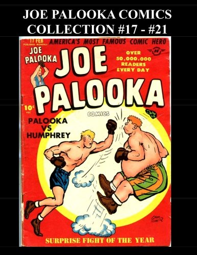 Download Joe Palooka Comics Collection #17 - #21: America's Favorite Boxer - In the Army, 5 Issue Collection! PDF