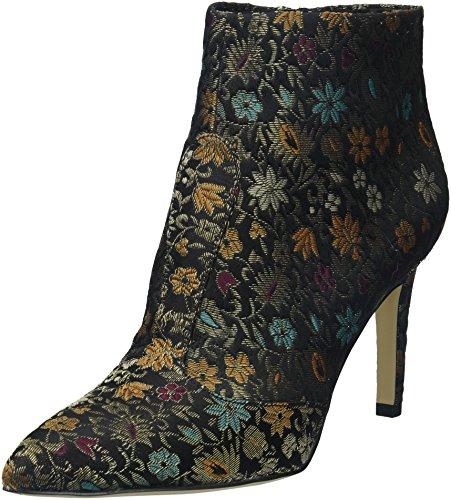 Sam Edelman WoMen Olette 2 Fashion Boot Black Multi Floral Brocade
