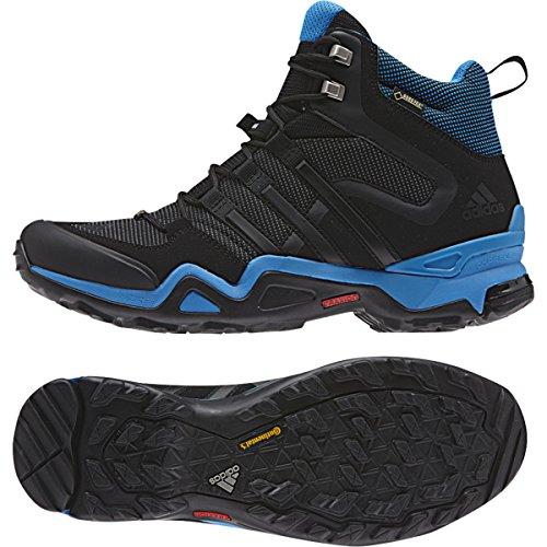 adidas Terrex Fast X FM MID GTX - calzado de material sintético hombre negro, gris (Dark Grey / Black / Vista Grey)