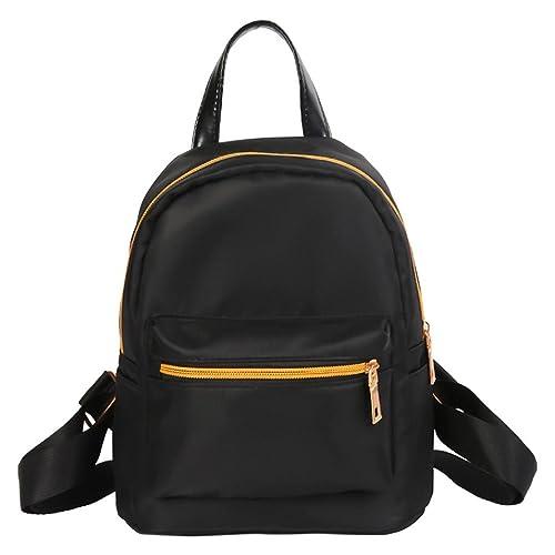 VIASA Women Teenage Girls Boys Solid Zipper Backpack School Bag Fashion  Shoulder Bag Unisex Rucksack School 01557e103a1c6