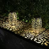 Kaixoxin Solar Lantern Lights for Hanging or Table