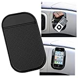 Magic Anti-slip Non-slip Mat, washable Car Dashboard Adhesive Mat Sticky Pad for Every Cell Phone and other Devices(pack of 5)