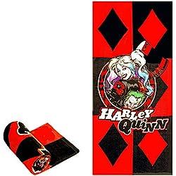 51J3BrGLzTL._AC_UL250_SR250,250_ Harley Quinn Bath Towels