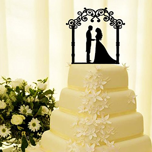 Mr & Mrs Wedding Cake Topper Decoration Cake Topper Acrylic Cake Topper for Special Events By SMYLLS