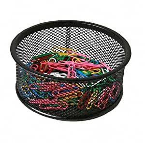 amazoncom sparco steel mesh paperclip holder paper