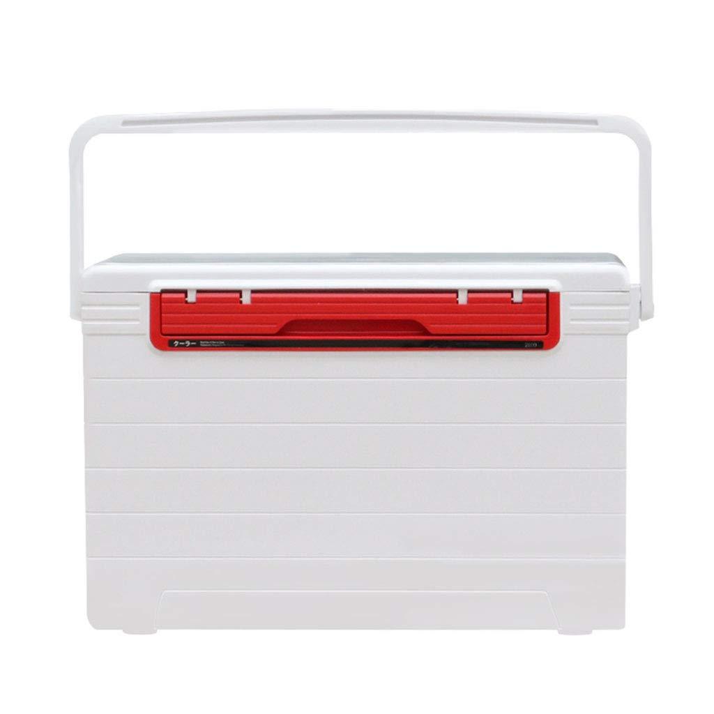 餌箱 釣り箱 釣り道具箱 多機能釣り箱 収納箱 5倍冷たい容量 28リットル容量 ギフト (Color : 白, Size : 52*36*30cm) B07M84M1XR 白 52*36*30cm