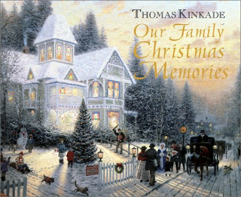 Home Thomas For Kinkade Christmas (Our Family Christmas Memories)