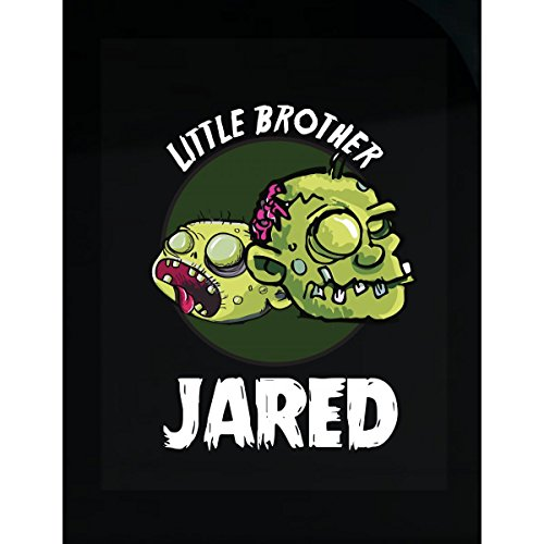 Halloween Costume Jared Little Brother Funny Boys Personalized Gift - Sticker