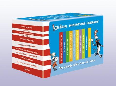 The Dr. Seuss Miniature Library: Mini Hardback Gift Box
