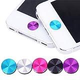 Hosaire 5 Stück Aufkleber DIY Phone stickers Knopfaufkleber Home Button Aufkleber für iPhone